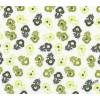 Цветы и горошки, 48*50см (±1-2 см)