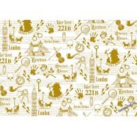 Пленка для шейкеров, разделителей- Sherlock Holmes - detective