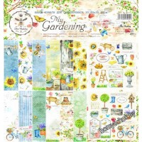 Набор бумаги 30,5х30,5 см My Gardening