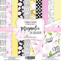"Набор скрапбумаги ""Magnolia in bloom"", 20x20см"