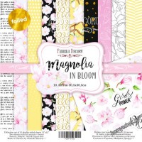 "Набор скрапбумаги ""Magnolia in bloom"", 30x30см"