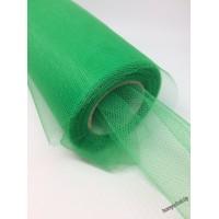 Фатин ленточный 15см, зеленый