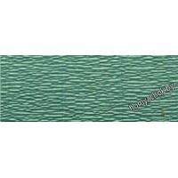 Бумага гофрированная простая 17E/4 зеленый тиффани, 180гр, 2,5м