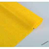 Бумага гофрированная простая 17E/5 цветочно-желтая, 180гр, 2,5м