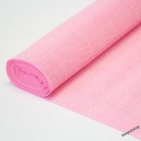 Бумага гофрированная простая 549 светло-розовая, 180гр, 2,5м