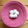 Трикотажная пряжа, цвет Розовая дымка