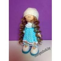 Набор для создания интерьерной куклы (светлое платье)