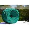 Зеленый. Длина 95-100 м, ширина 7-9 мм.