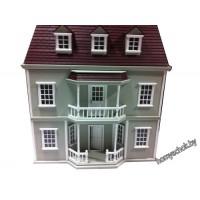 Домик для кукольной миниатюры 64,5*40*48,5 см