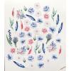 Набор высечек Цветы коллекция Однажды в Париже 52 элемента