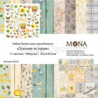 Набор бумаги Осенняя история