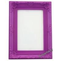 Фоторамка Стиль фиолетовая (для фото 10х15 см)