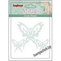 Акриловые украшения Бабочки 3 шт