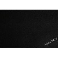 Отрезок фетра 20*30 см 1 мм 100% полиэстер черный