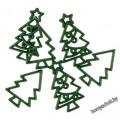 Набор пуговиц мини -  Рождественская елка