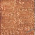 Салфетка рисовая - Числа