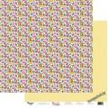 Бумага для скрапбукинга 30,5х30,5 см 190 гр/м, двусторон Любимые забавы